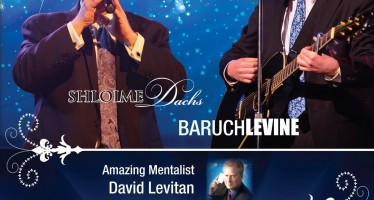 SHLOIME DACHS & BARUCH LEVINE Live In Concert