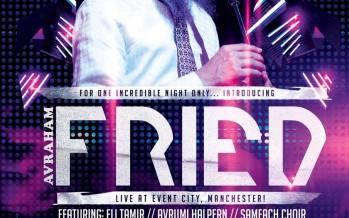 Avraham Fried Live! Event City, Manchester!
