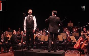 Micha Gamerman – Kesher Shel Kayama With A Live Symphony Orchestra
