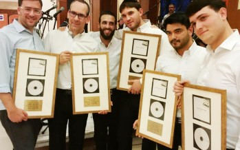 The Moetzet Ha'Shirah Hayehudit Celebrates Gold Album