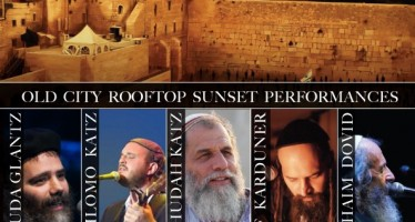 Chol Hamoed PESACH 2015 Old City RoofTop Sunset Performances