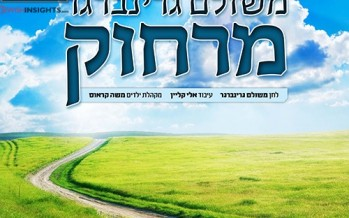 """""""Mei'Rachok""""  Meshulam Greenberg Releases A New Single For Pesach"""