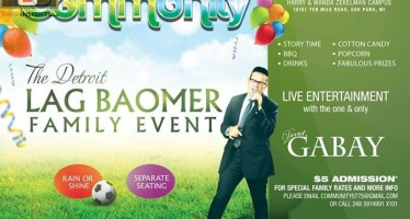 The Detroit LAG BAOMER FAMILY EVENT: Featuring DOVID GABAY