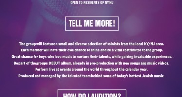 Brand New Kids Group Announcing Auditions