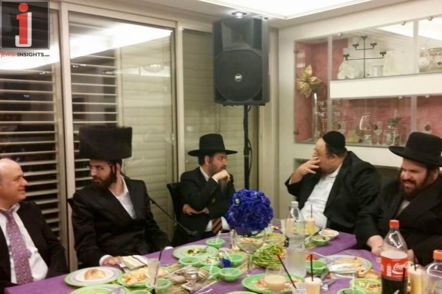 Pinchas Menachem Friedberg – V'Ashrei Chelkam