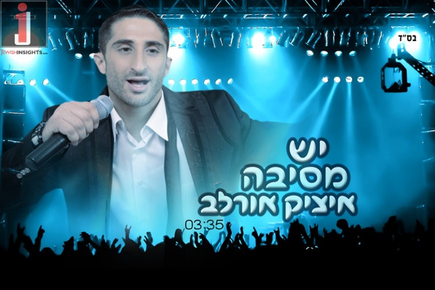 "Itzik Orlev New Summer Hit ""Yesh Mesiba"""