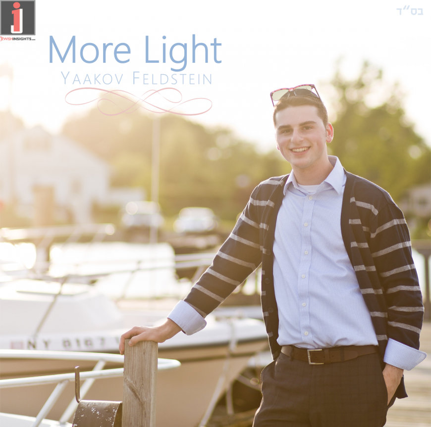 "Yaakov Feldstein Returns With A New Single ""More Light"""