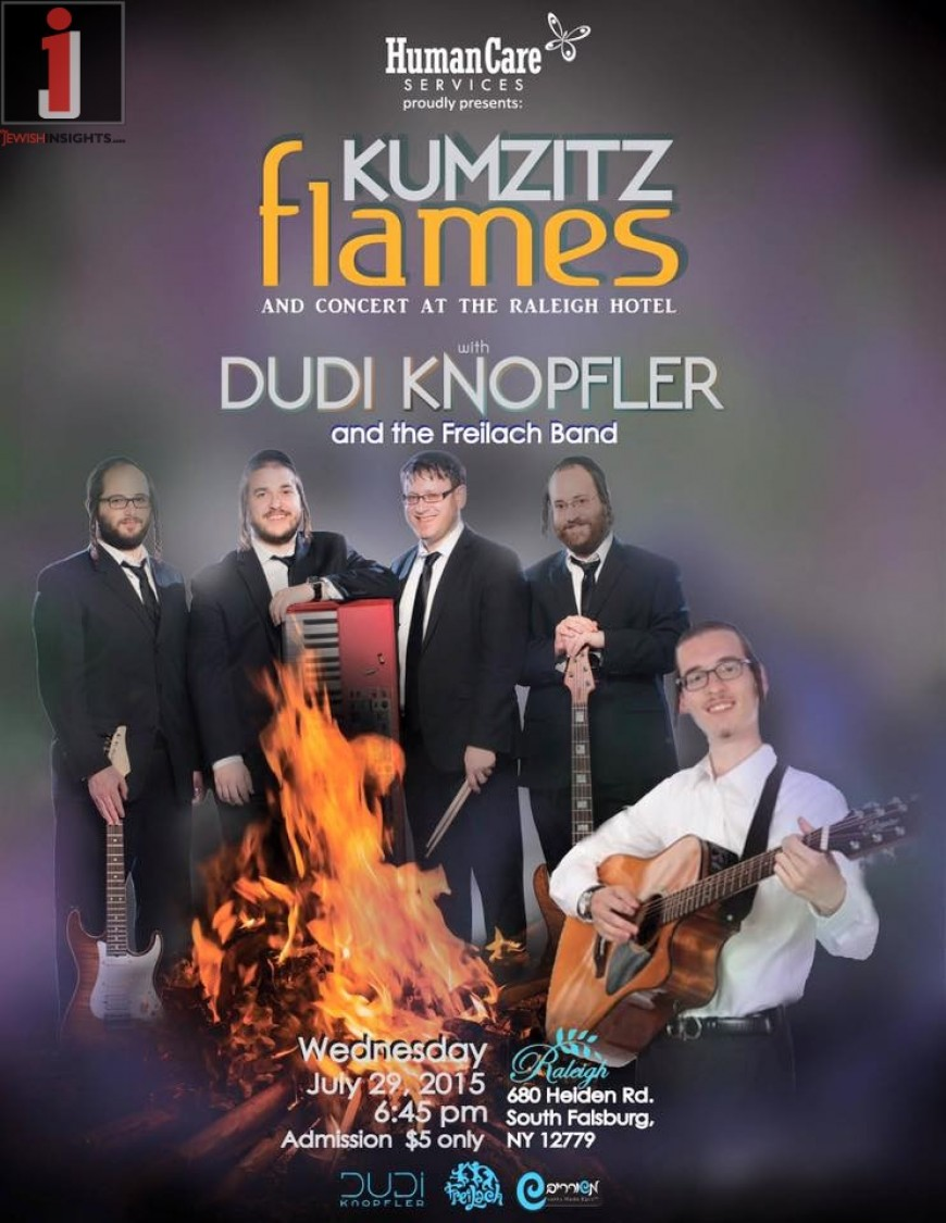 KUMZITZ FLAMES With DUDI KNOPFLER & THE FREILACH BAND