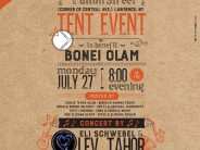 BONEI OLAM TENT EVENT Featuring Performance By ELI SCHWEBEL & LEV TAHOR