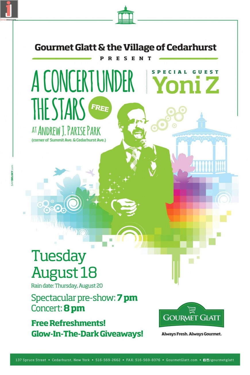 A CONCERT UNDER THE STARS With Special Guest YONI Z