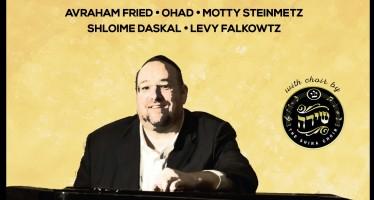Shlomo Yehuda Rechnitz Releases 6 New Songs In Honor of Wedding