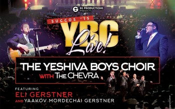 YBC LIVE SUCCOS '15: YBC With The Chevra, Eli Gerstner & Y. M. Gerstner