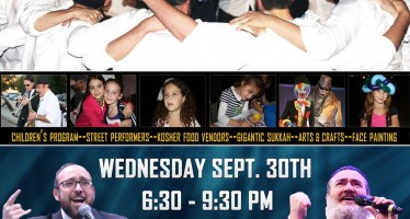 Community Sukkot Festival With Shlomo Simcha & Yisroel Williger