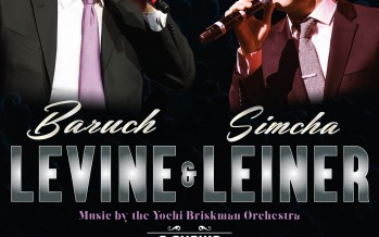 This Chol Hamoed: BARUCH LEVINE & SIMCHA LEINER – 2 SHOWS