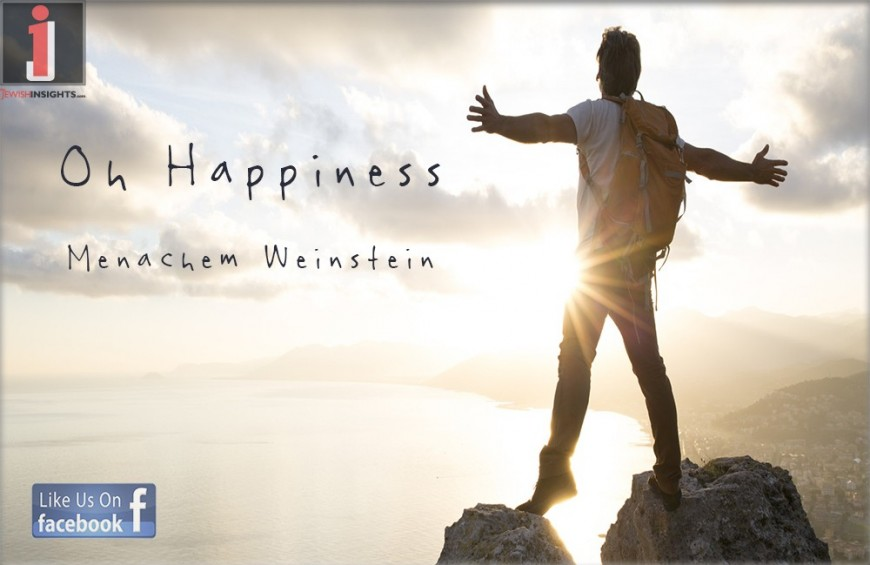 Menachem Weinstein – Oh Happiness