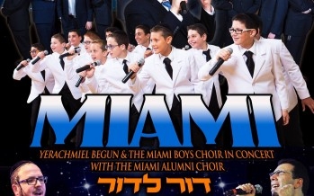 A MIAMI EREV CHANUKAH CELEBRATION!