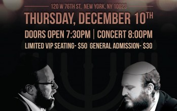 SHLOMO & EITAN KATZ- LIVE IN NEW YORK