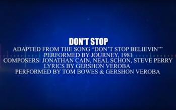 "Tom Bowes & Gershon Veroba: ""Don't Stop"" (Lyric Video)"