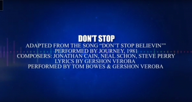 "Tom Bowes & Gershon Veroba: ""Don't Stop"" (Lyric Video)"