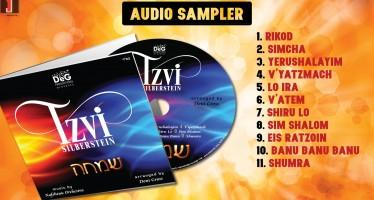 Tzvi Silberstein – SIMCHA [Audio Sampler]
