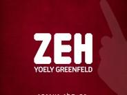 "Yoely Greenfeld ""Zeh"" Album Preview"
