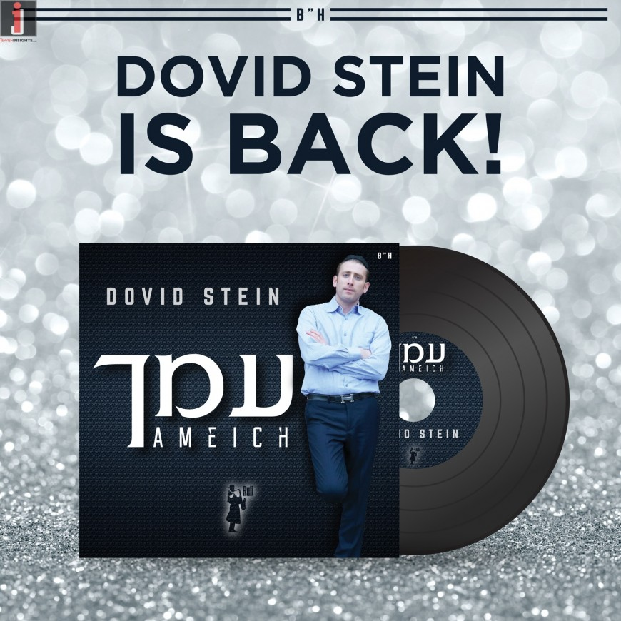 """Dovid Stein Releases New Single """"AMEICH"""""""