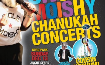 Suki & Ding Present: UNCLE MOISHY CHANUKAH CONCERTS