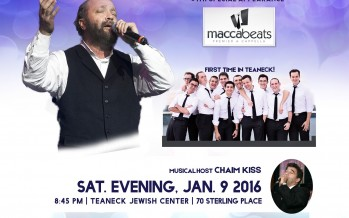 SUKI & DING PRESENT IN SUPPORT OF SHARSHERET AN UNFORGETTABLE EVENING WITH YEHUDA GREEN