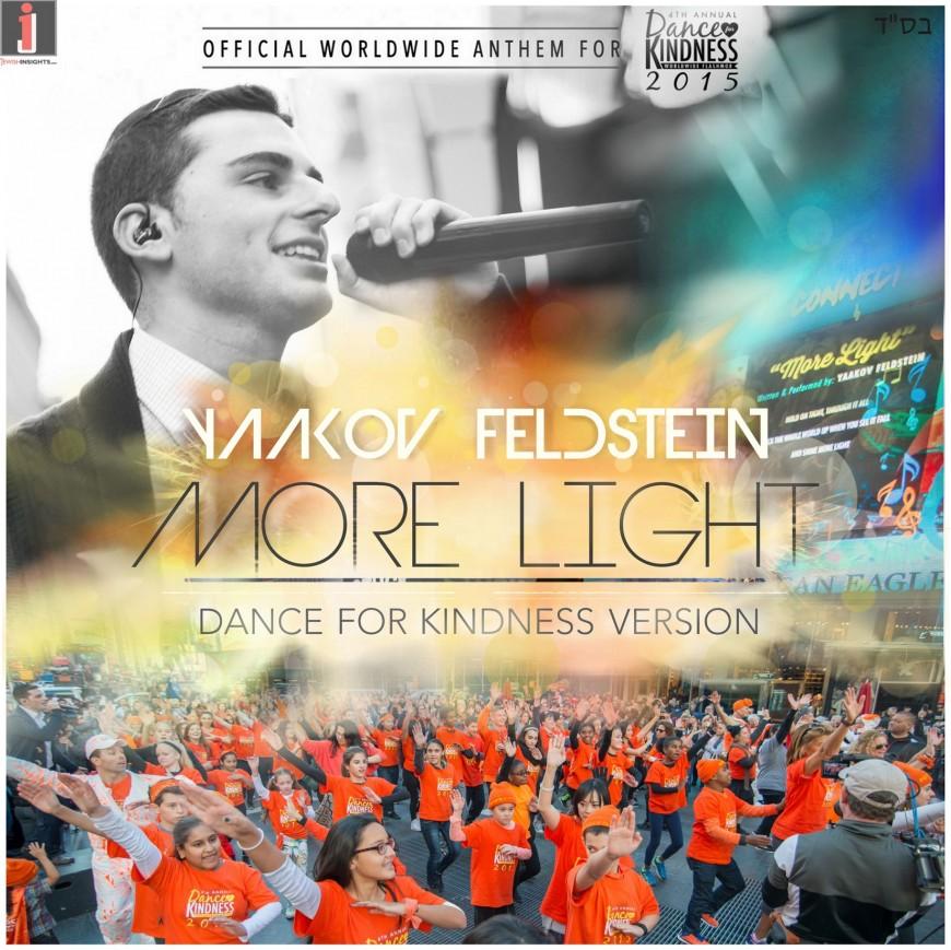 "Bringing ""More Light"" To The World: Yaakov Feldstein's Wordwide Hit, Inspiring People Across The Globe"