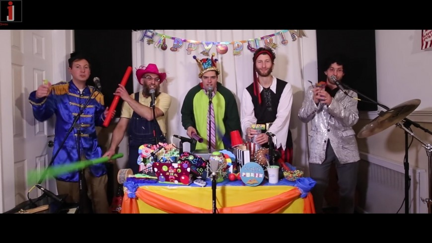 Chag Purim – A Purim Grogger Mash-up From Jewish A Cappella Group Shir Soul
