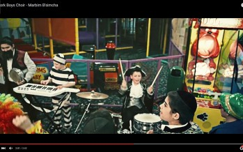 "Yitzy Bald & The New York Boys Choir Proudly Present A Knockout Purim Music Video ""Marbim B'simcha"""
