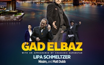 Hakhel Purim Concert With Gad Elbaz, Lipa Schmeltzer, NISSIM & Matt Dubb