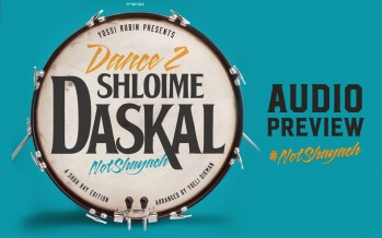 "Shloime Daskal's Dance 2, ""Not Shayach"" [Audio Preview]"