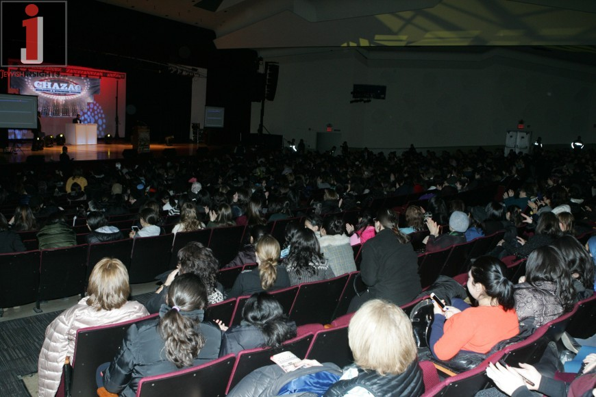 Partial view of the Full Crowd