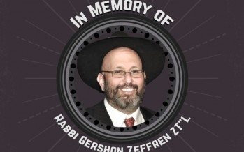 A Song in Memory of Rabbi Zeffren