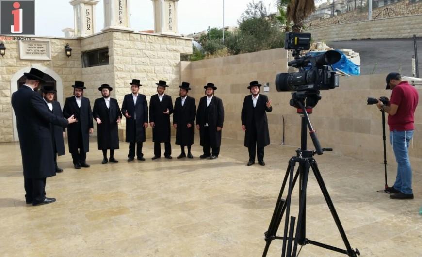 The Malchus Choir – Omar Rabbi Akiva Behind The Scenes Video