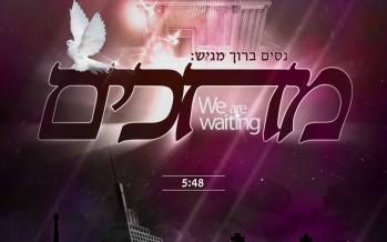 "Nissim Baruch Releases New Single ""Mechakim"""