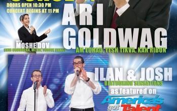 Motzei Shabbos Nachamu Concert With Ari Goldwag & More