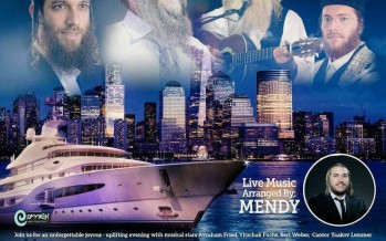 Imrei Shufer Presents: THE CRUISE #3- AVRAHAM FRIED, BERI WEBER, YITZCHAK FUCHS, YANKY LEMMER