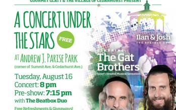 Sheya Mendlowitz Brings The Gat Brothers To America!