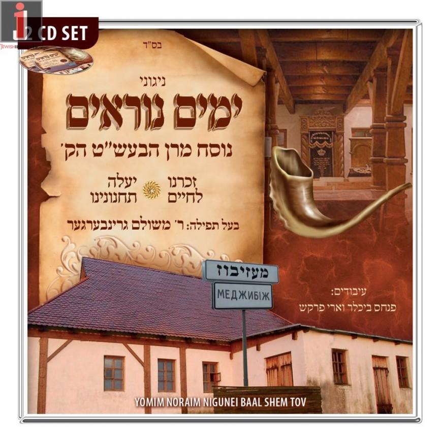 MRM Music Presents: Yomim Noraim Nigunei Baal Shem Tov (2 CD SET)