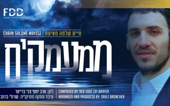 "David Fadida Presents: Chaim Shlomo Mayesz New Single ""Mimamakim"""