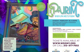 LiPurim With Lipa & Special Guests @WSIS!