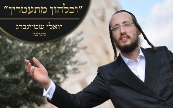 """Vechulhon"" The Debut Single From Rising Star Yoeli Steinberg"
