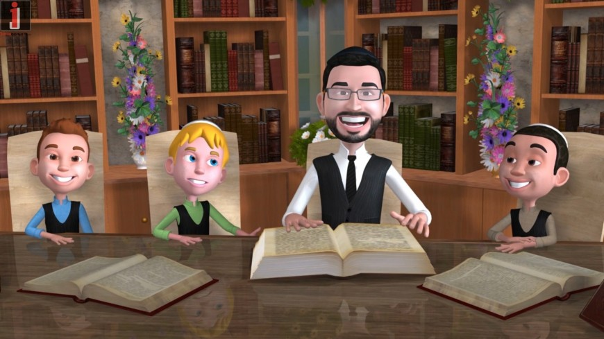 Shavuot Medley With Micha Gamerman [Official Animation Video]