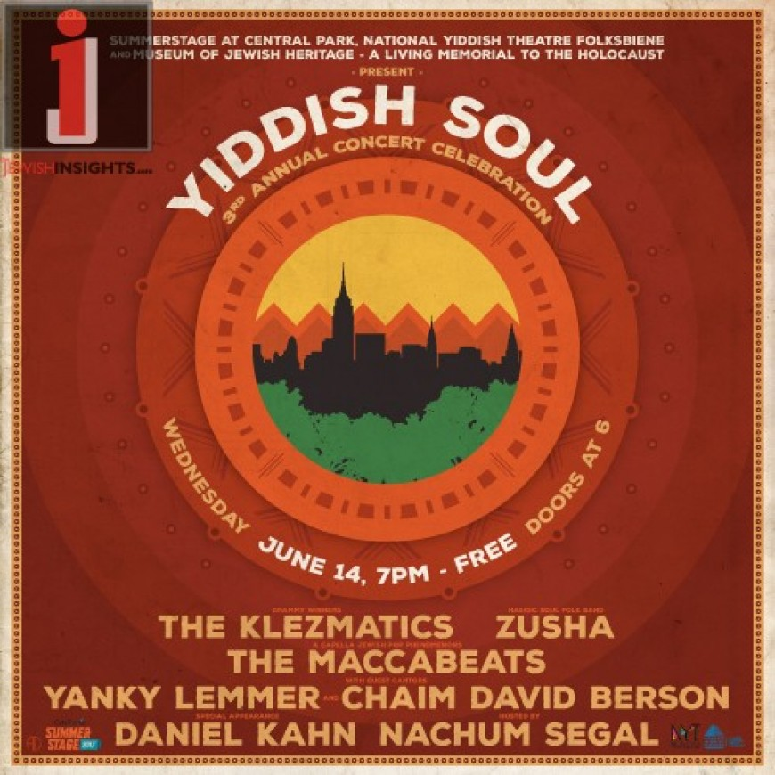 Yiddish Soul! The 3rd Annual Concert Celebration