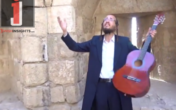 "Yoely Shteinberg With A New Single & Music Video ""Vayichan Shom Yisrael"""