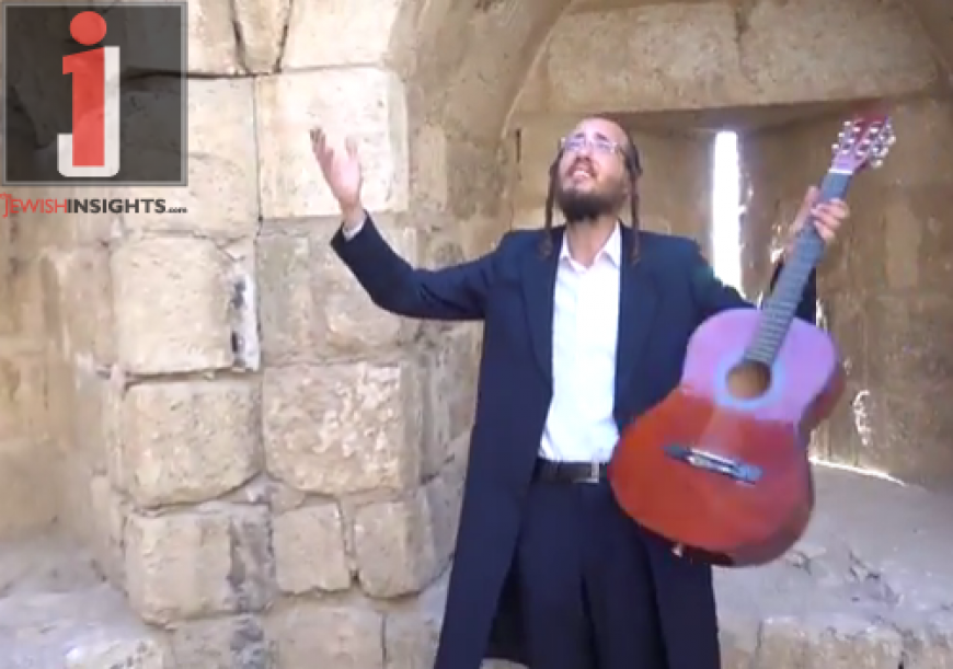 """Yoely Shteinberg With A New Single & Music Video """"Vayichan Shom Yisrael"""""""