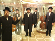 "The Malchus Choir Visits The Hebrew Music Museum In Jerusalem & Performs ""Haleluya"""