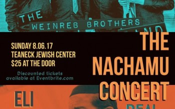 The Nachamu Concert: The Weinreb Brothers & Eli Beer